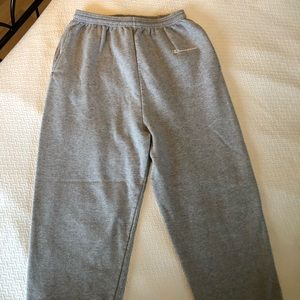 Men's Large Grey Champion Sweatpants